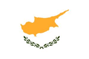 Zypern, zypriotisch - Flagge