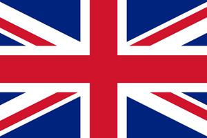 Großbritanien, englisch - Flagge